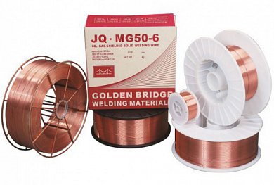 GOLDEN BRIDGE  JQ.MG50-6 (Св08Г2С, ГОСТ2246  /  ER70S-6)